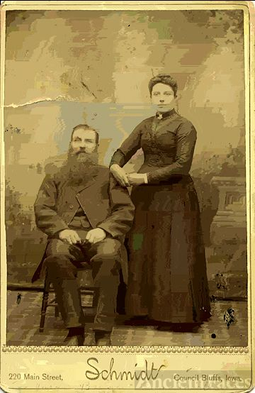 Jürgen and Anna (Moller) Brandt, Iowa 1870's