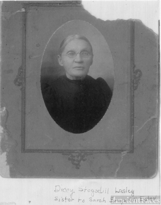 Dica (Stogsdill) Lasley in her old age