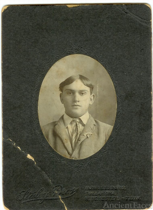 HERMAN ENGLISH DYER SR. as a young man
