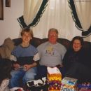 Justin Tuttle, Bill and Kay Carson