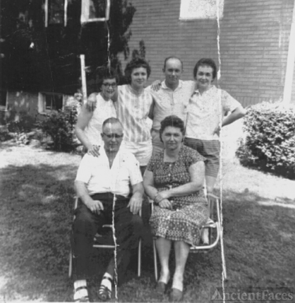 The Woznicki Family 1959