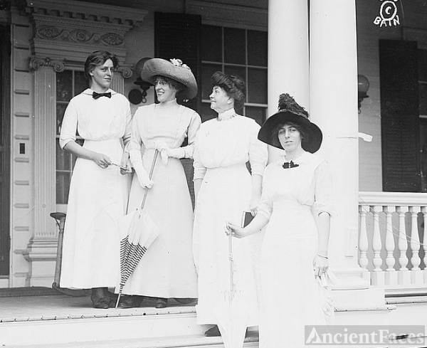 Jessie, Margaret, Ellen, and Eleanor Wilson
