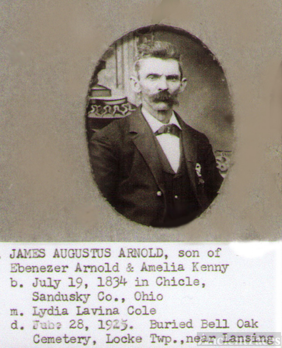 James Augustus Arnold, age 40-50