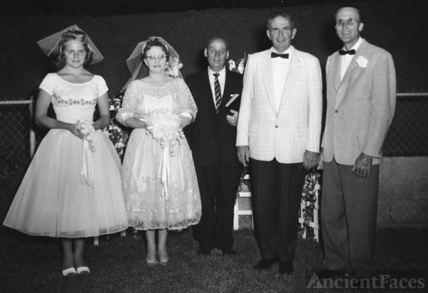 Claude Percy Nesmith wedding