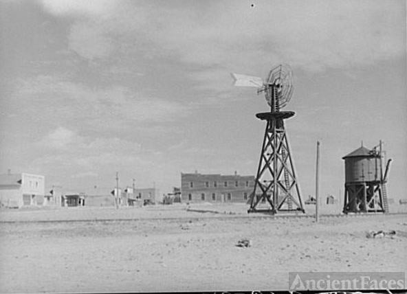 1939 photo of Keota, Colorado Dust Bowl