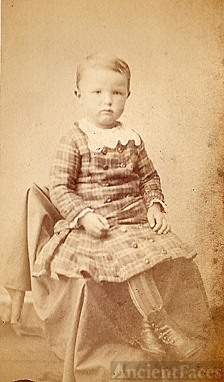 Unknown Child #1 from old photo album