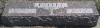Mildred & Walter Polley gravsite