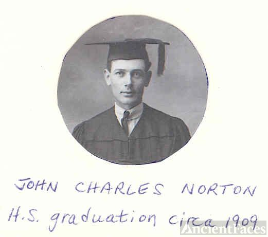 John Charles Norton High School Graduation Picture