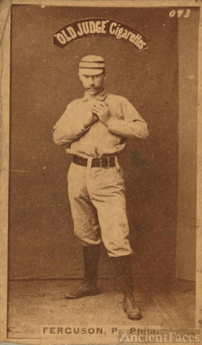 Charlie Ferguson Baseball Player 1887