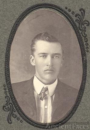 unknown young man