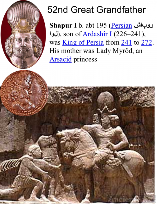 Shapur I King of Persia