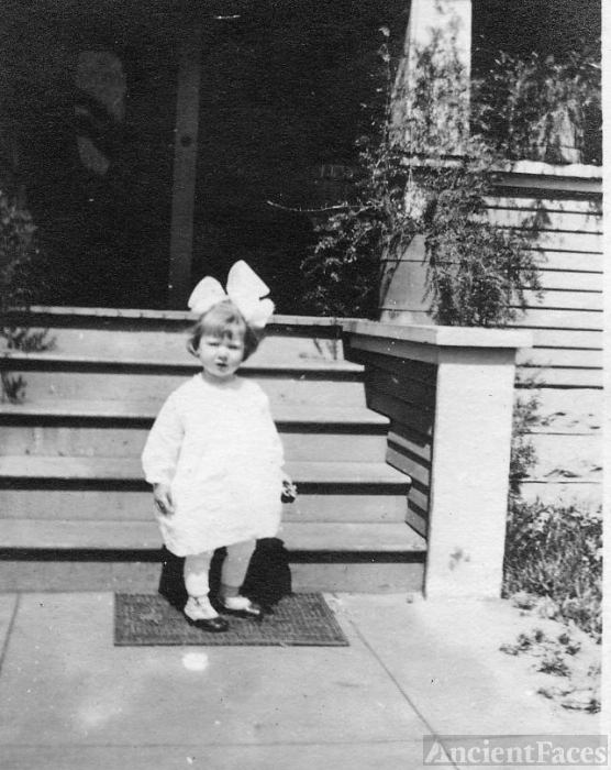 Unknown Little Girl, California