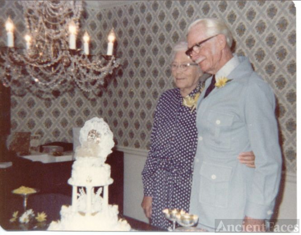 50th Wedding Anniversary of Carl and Martha Felts