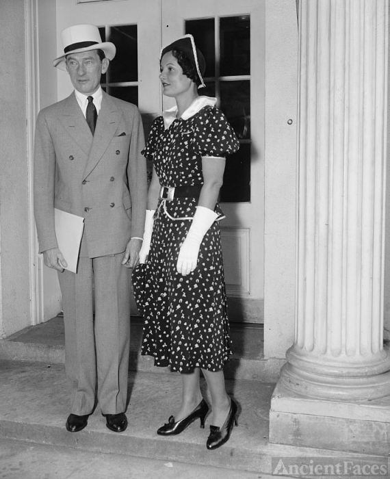 Jimmy Walker & Betty Compton, his wife