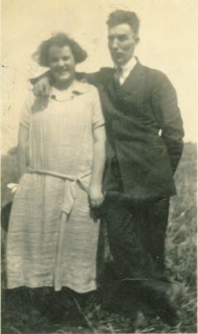 Lewis and Maude Ridenour Wolf