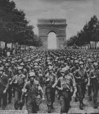 Paris Liberated, 1944