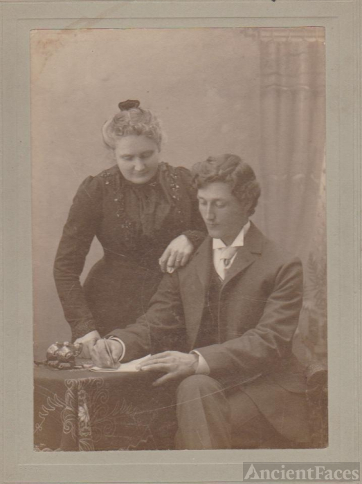 Mrs. A. M. and D. A. MacRae,1900 Canada