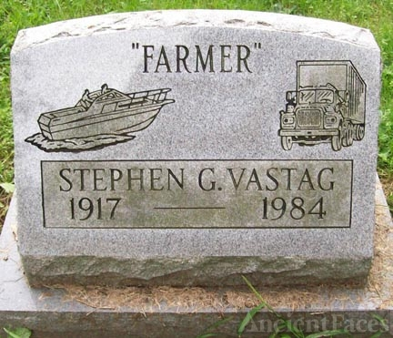 Stephen Vastag Headstone, New York
