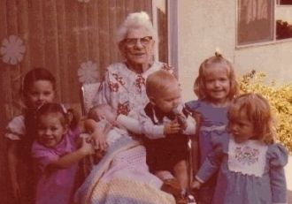 Mary Love and Great Grandchildren