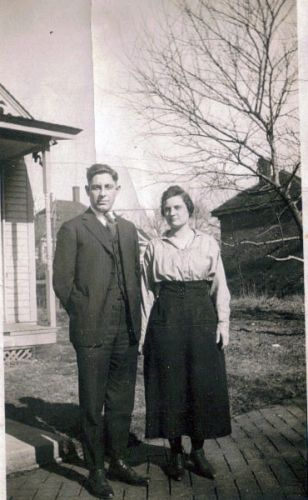 A photo of Elmer & Lenna Hallett Benson