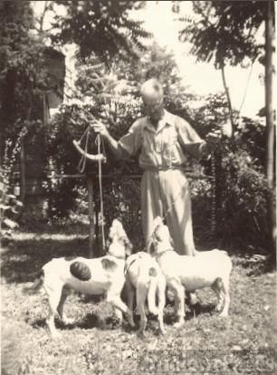 Scott Collins  & his Dogs