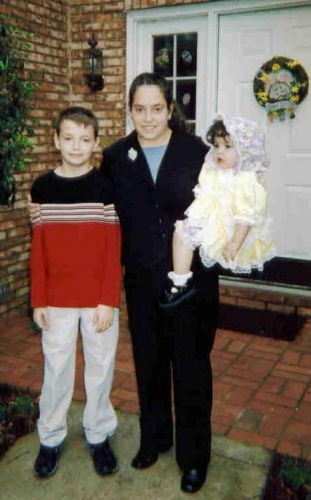 Jordan, Kristen and Madison - Easter