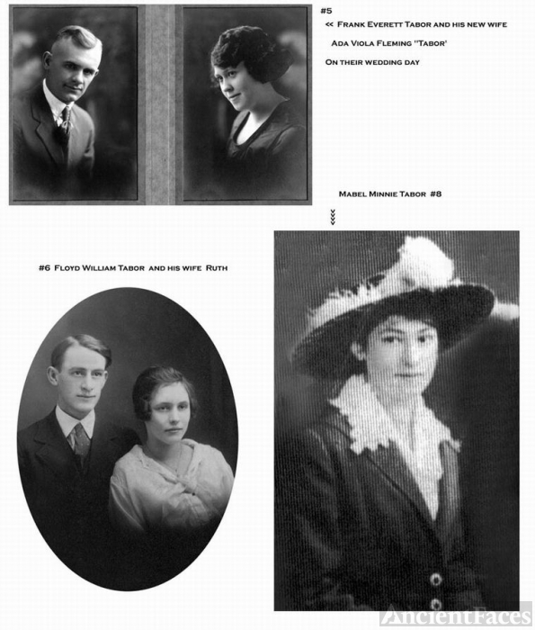 Tabor Family, Mixed Photos