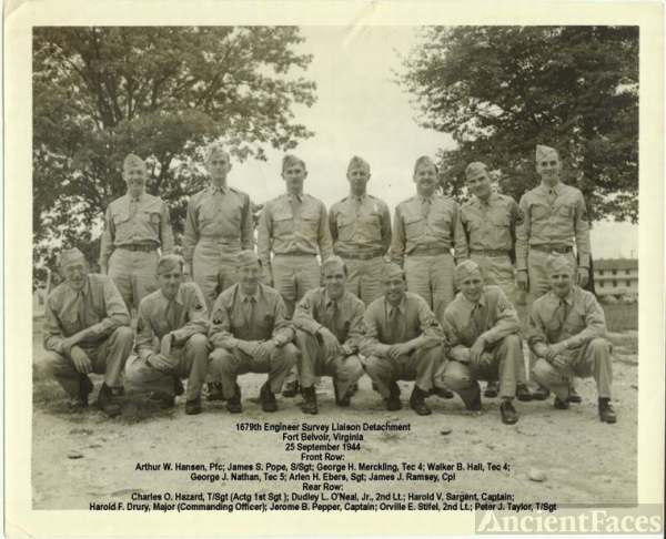 1679th Engineer Survey Liaison Detachment