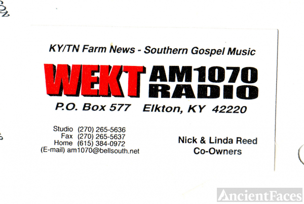 Nicky REED business card