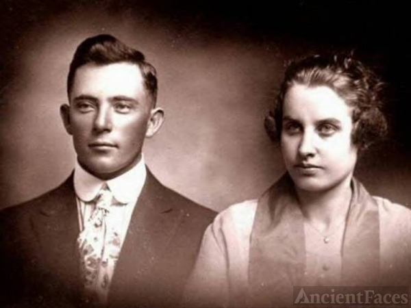 Paul and Irma Caughey, Texas  (son of Wiley F. Caughey)