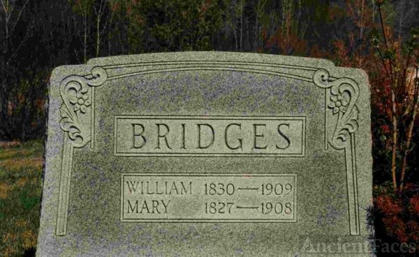 William Bridges and Mary Anderson