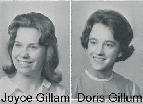 1965 yearbook photo Gillam/Gillum