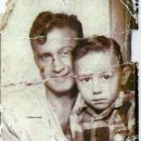 MY FATHER JACK & MYSELF AS A CHILD