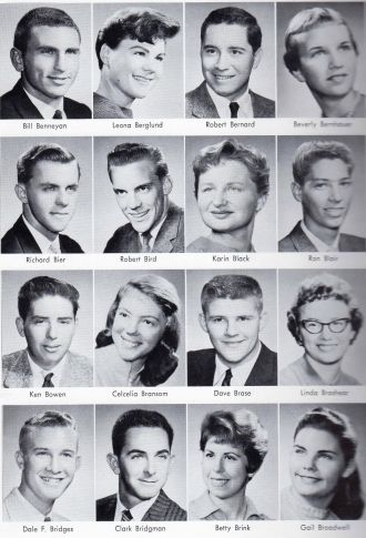 Ken Bowen - Fresno High School, 1959