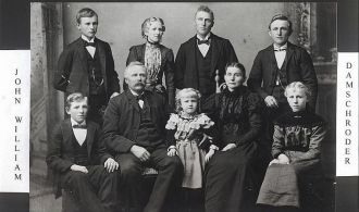 John William Damschroder family
