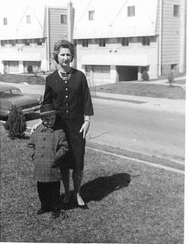 Fran X.McGowan & Mom 1963