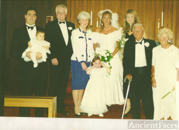 Ayscue & Mesner Wedding, FL 1996