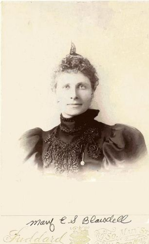 A photo of Mary E. S. (Blaisdell) Cummings