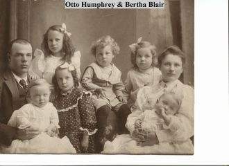 Otto & Bertha(Blair) Humphrey
