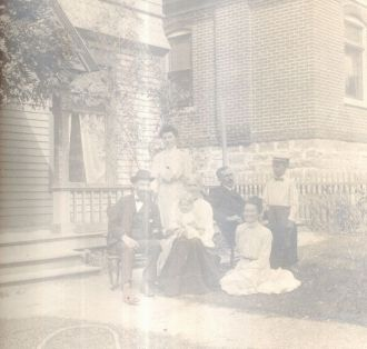Nebwerry Home in Utah abt 1903