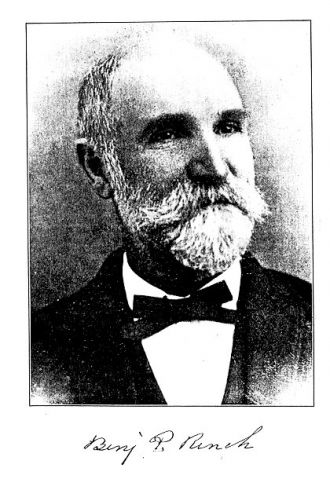 A photo of Benjamin Price Rench