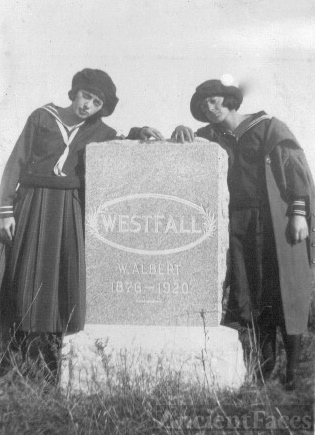 William Albert Westfall gravesite