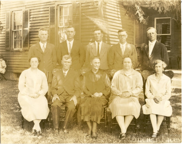George Dillaman 50th wedding anniversary 1928