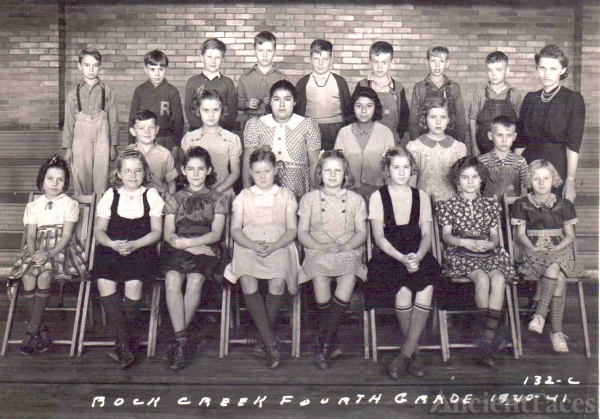 Kedrick Eversole & Rock Creek School 1940-1941