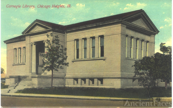 Chicago Heights, Illinois Library 1903