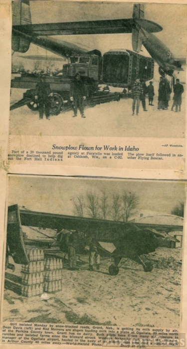 MIdwest Blizzard of 1949, #3
