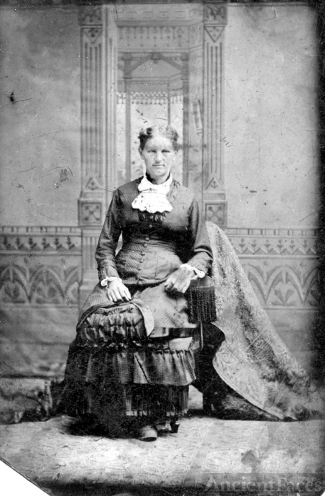 unknown tintype or ferrotype