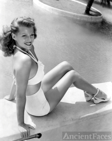 Rita Hayworth Bathing Suit