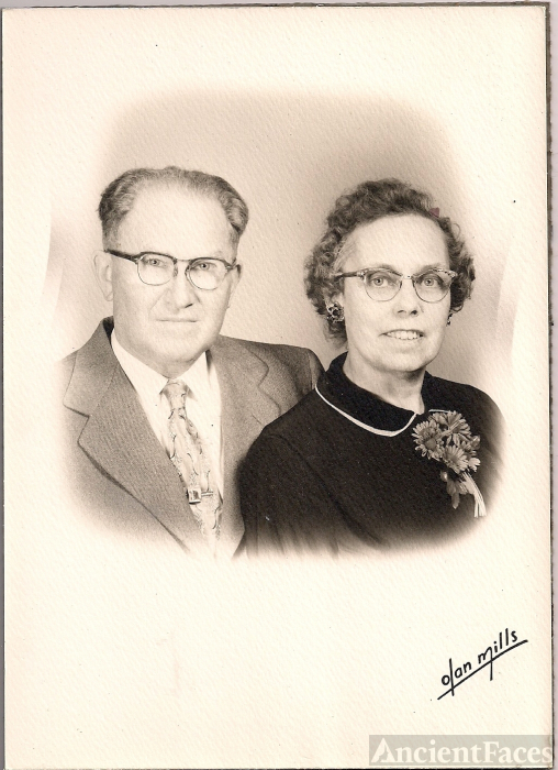 Roland B. and Blanche H. Sharp, New Jersey, 1955