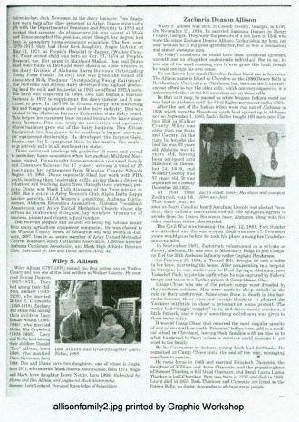 Important Alabama Allison article Page 1